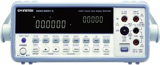 GW Instek GDM-8255A Bench multimeter Digitaal Kalibratie: Zonder certificaat CAT II 500 V Weergave (counts): 200000