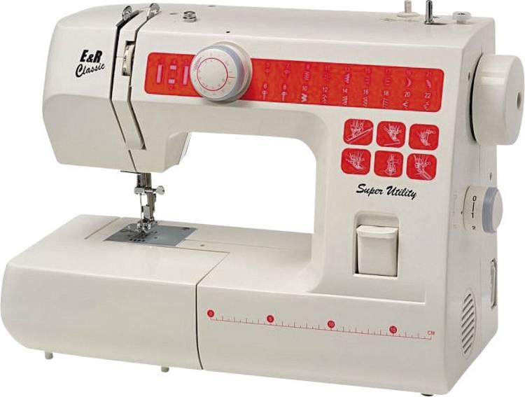 E&R NT22 - vrije-armnaaimachine met 22 programmas