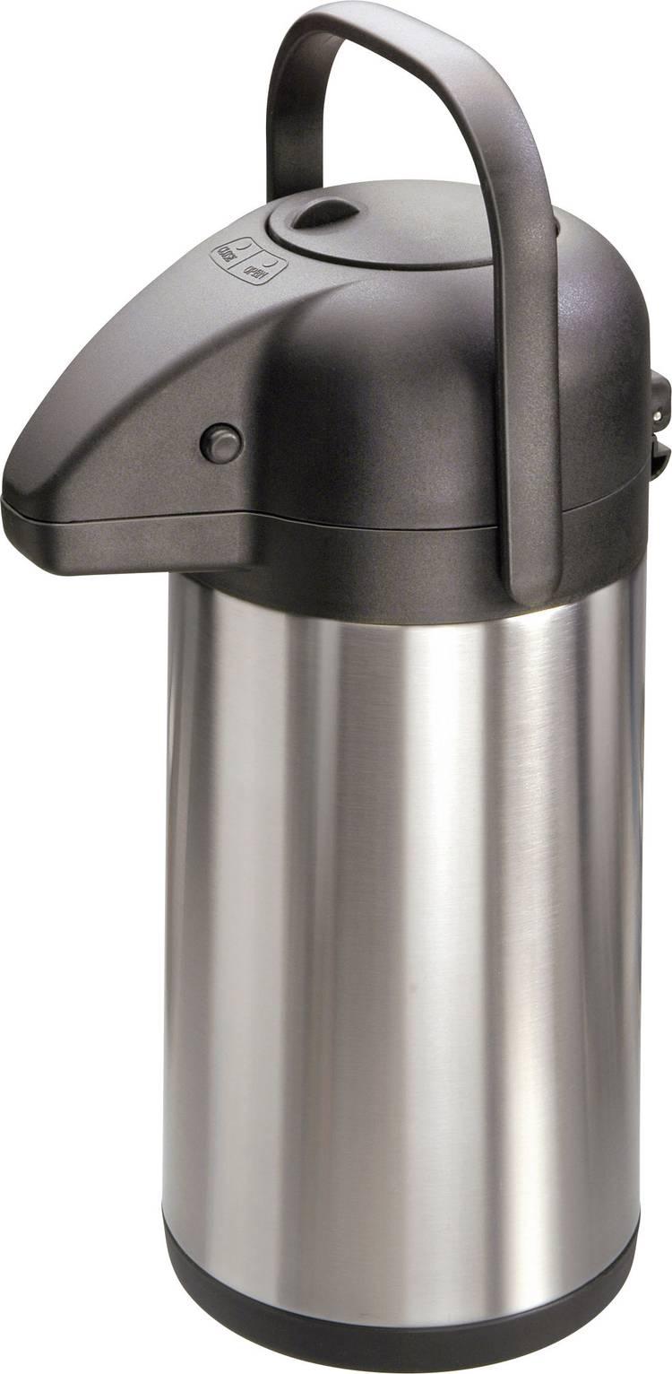 Image of MATO Thermoskan met pomp Pumpy roestvrij staal 1,9 liter