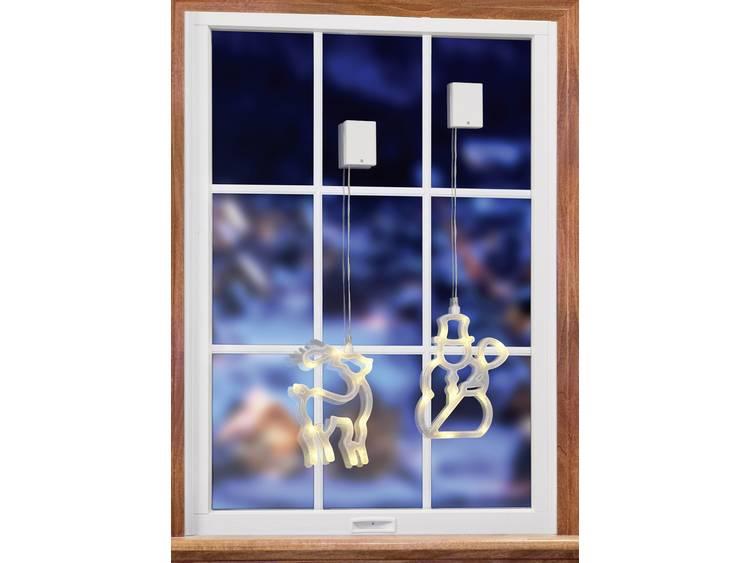 kerst raam verlichting