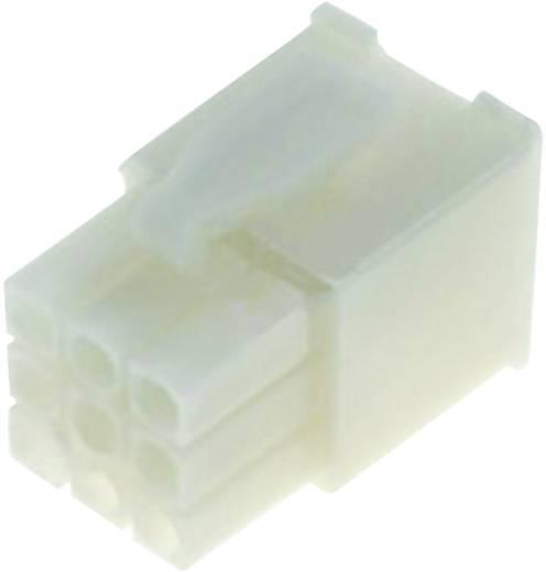 Penbehuizing-kabel Universal-MATE-N-LOK Totaal aantal polen 9 TE Connectivity 172169-1 Rastermaat: 4.20 mm 1 stuks