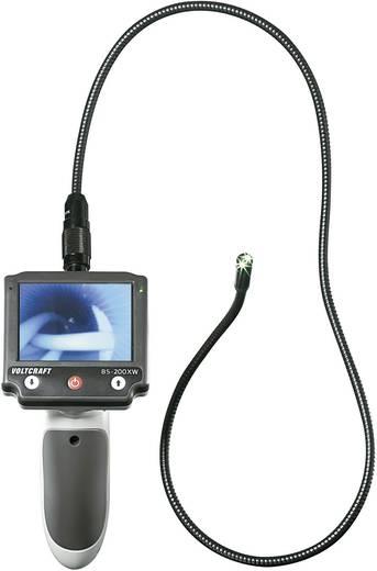 Endoscoop VOLTCRAFT BS-200XW Sonde-Ø: 9.8 mm Sondelengte: 88 cm Focus, Optionele verlenging, Afneembare monitor, TV-uitg