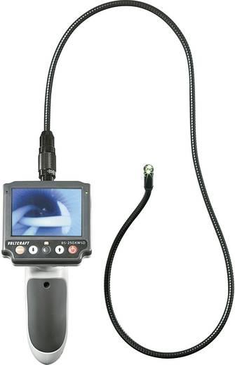 VOLTCRAFT BS-250XWSD Endoscoop Sonde-Ø: 9.8 mm Sondelengte: 88 cm Focus, Optionele verlenging, Afneembare monitor, TV-ui