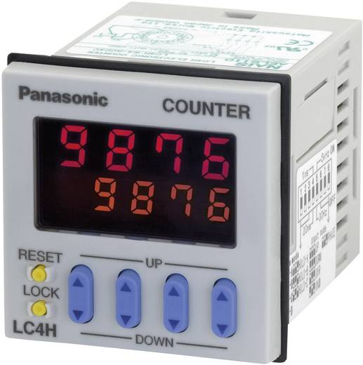 Panasonic Digitale voorkeuzeteller LC4HR424J Schakelspanning 250 V