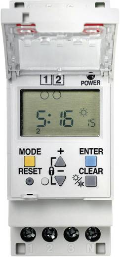 Panasonic TB6220187 Schakelklok voor DIN-rails Voedingsspanning (num): 230 V/AC 2x wisselaar 16 A 250 V/AC