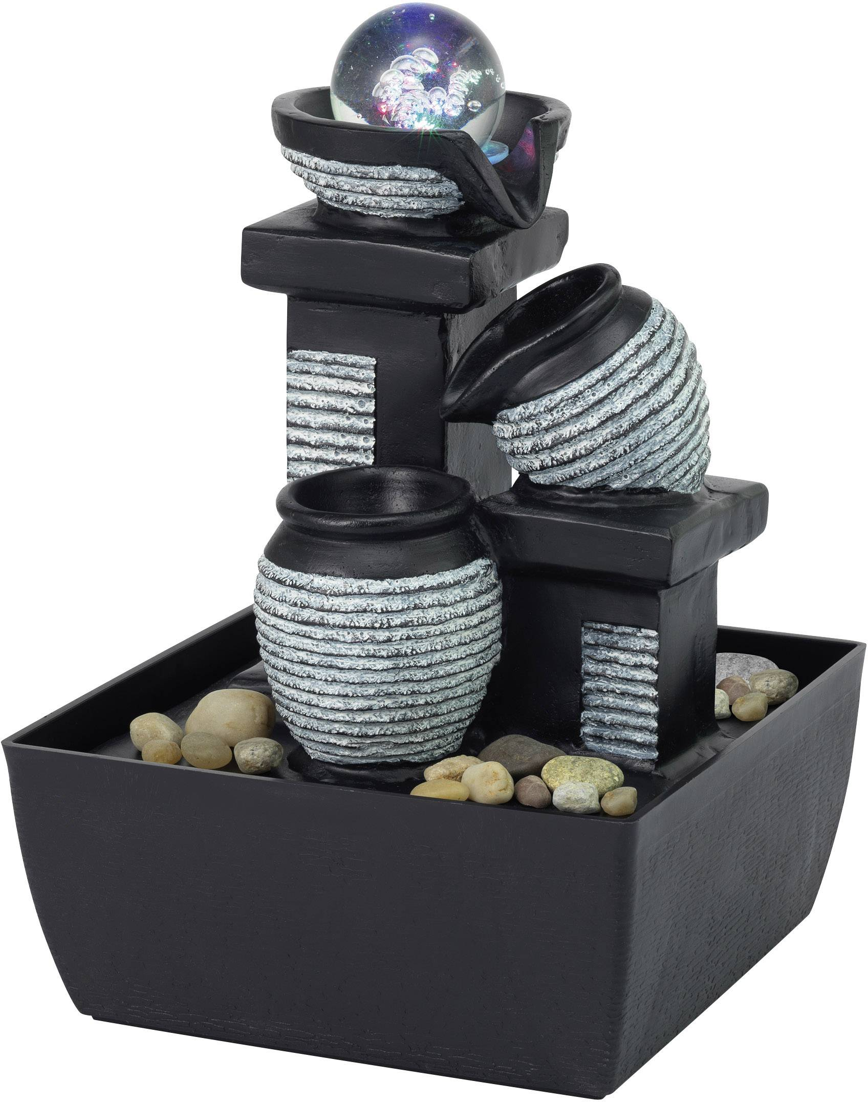 renkforce 1233679 kamerfontein met led verlichting. Black Bedroom Furniture Sets. Home Design Ideas