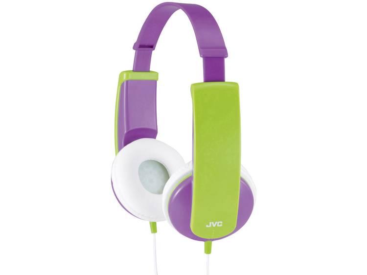 JVC HA-KD5-V-E Kinder Koptelefoon Lila, Groen