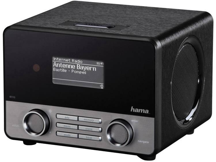 Hama IR110 Tafelradio met internetradio Internet AUX, Internetradio, USB Spotify
