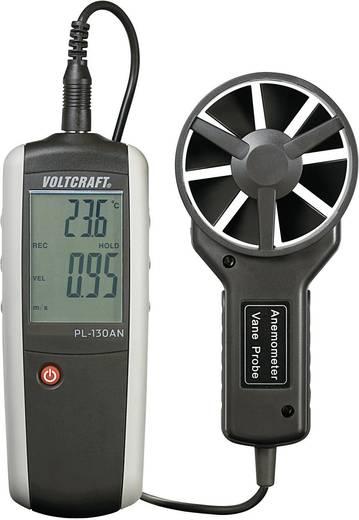 Windmeter VOLTCRAFT PL-130 AN 0.4 tot 30 m/s Kalibratie conform Fabrieksstandaard (zonder certificaat)