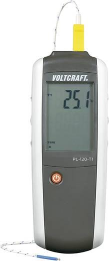 VOLTCRAFT PL-120 T1 Temperatuurmeter -200 tot +1372 °C Sensortype K, J Kalibratie: Zonder certificaat