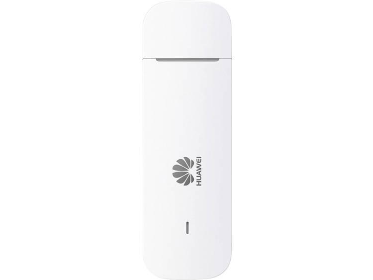 Huawei E3372 LTE-surfstick, 150 Mbit-s, Micro SD-kaartsleuf, externe antenne-aansluiting, wit