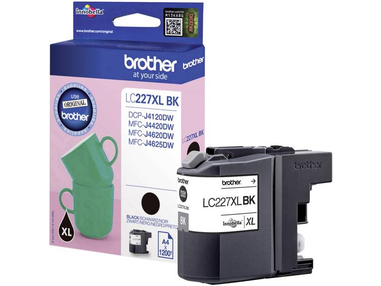 Brother Inkt LC-227XLBK Origineel Zwart LC227XLBK