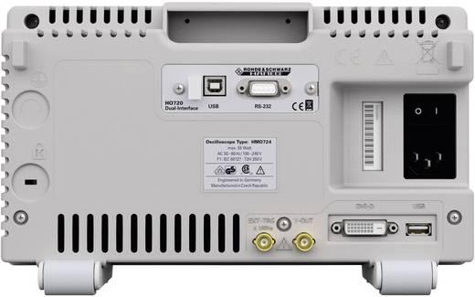 4-kanaals digitale oscilloscoop HMO724