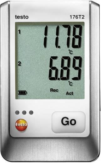 testo 176 T2 Temperatuur datalogger (Temperatuur) -50 tot 400 °C Kalibratie Zonder certificaat