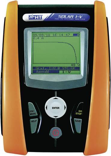 HT Instruments SOLAR I-V Fotovoltaïsche multimeter Digitaal Kalibratie: Zonder certificaat CAT II 1000 V, CAT III 300 V