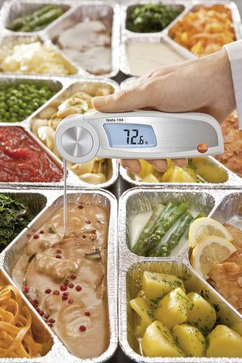 testo Testo 104 Insteekthermometer (HACCP) Meetbereik temperatuur -50 tot 250 °C Sensortype NTC Conform HACCP