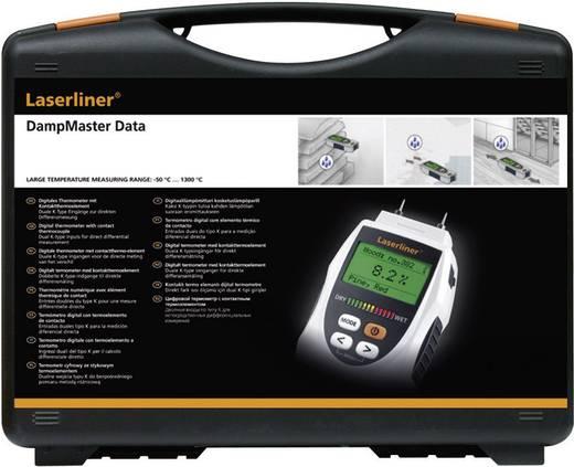 Laserliner DampMaster Data Plus Materiaalvochtigheidsmeter Meetbereik bouwvochtigheid 0 tot 90 %Vol. Meetbereik houtvoch