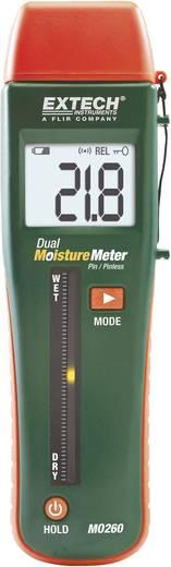 Extech MO260 Materiaalvochtigheidsmeter Meetbereik bouwvochtigheid 0 tot 99.9 %Vol. Meetbereik houtvochtigheid 0 tot 99.9 %Vol.