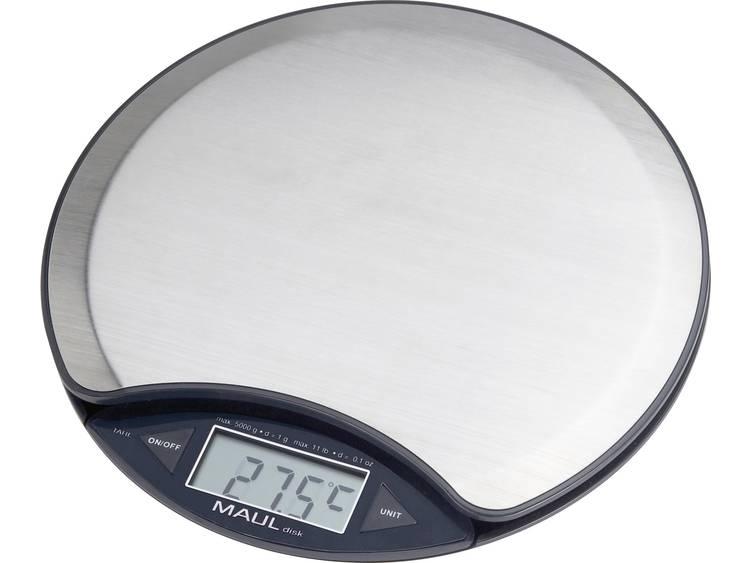 Brievenweger MAUL disk, met batterij, 5000 g, nikkel
