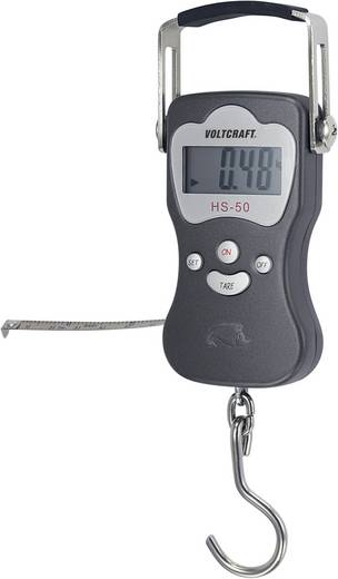 VOLTCRAFT HS-30 Hangweegschaal Weegbereik (max.) 30 kg Resolutie 20 g