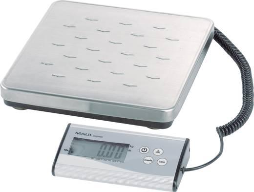 Maul 17997 09 Pakketweegschaal Weegbereik (max.) 120 kg Resolutie 50 g Werkt op batterijen Zilver