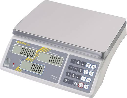 Kern CXB 15K1 Telweegschaal Weegbereik (max.) 15 kg Resolutie 1 g Werkt op het lichtnet, Werkt op een accu Zilver