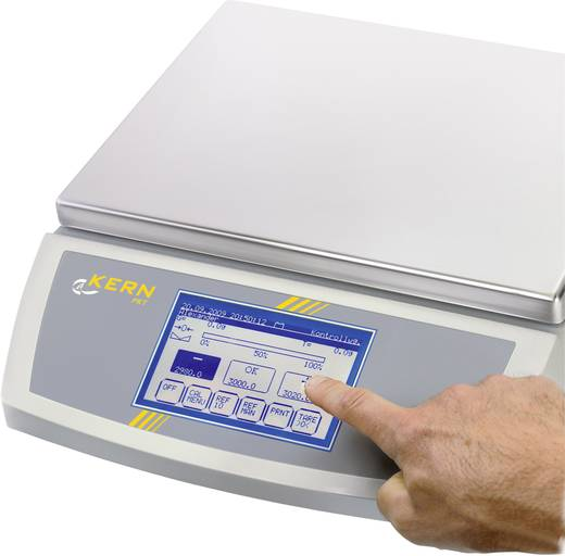 Kern FKT 36K0.1L Tafelweegschaal Weegbereik (max.) 36.1 kg Resolutie 0.1 g Werkt op het lichtnet, Werkt op batterijen, Werkt op een accu