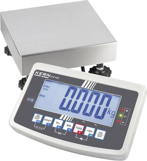 Kern IFB 15K2DM Platformweegschaal Weegbereik (max.) 15 kg Resolutie 2 g Wit