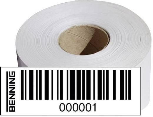 Benning Barcode-etiketten (nr. 0001-1000), Geschikt voor ST750, ST750 Set, 756301