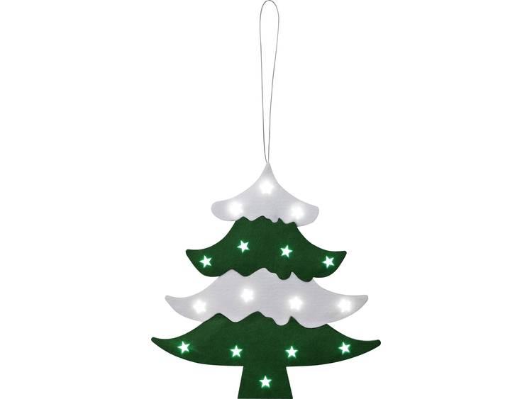 Raamdecoratie Kerstboom LED Polarlite LDE-02-0