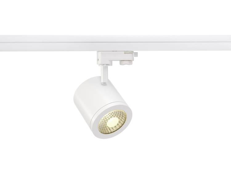 SLV HoogspanningsrailsysteemRailsysteemlamp Enola 152421 Wit LED vast ingebouwd