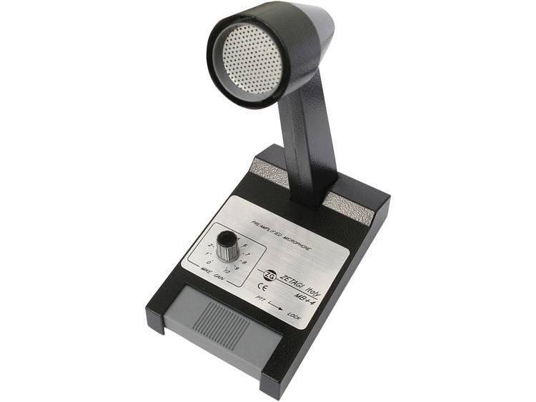 Zetagi Tafelmicrofoon MB+4 MB+4 5840, geschikt voor 4-polige microfoonbus , CB-radio accessoires