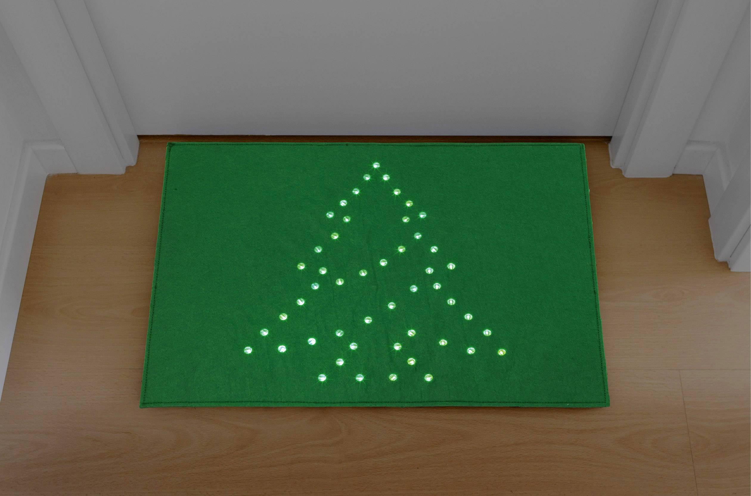 Groen Led Licht : Decoratief led licht deurmat kerstboom groen led groen polarlite