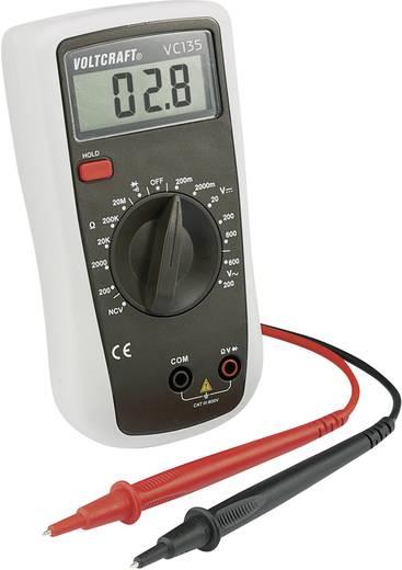 VOLTCRAFT VC135 Multimeter Digitaal Kalibratie: Zonder certificaat CAT III 600 V Weergave (counts): 2000
