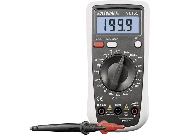 VOLTCRAFT VC155 Multimeter Digitaal Kalibratie conform Fabrieksstandaard zonde