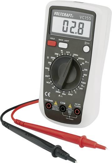 Multimeter VOLTCRAFT VC155 CAT III 600 V Fabrieksstandaard (zonder certificaat)