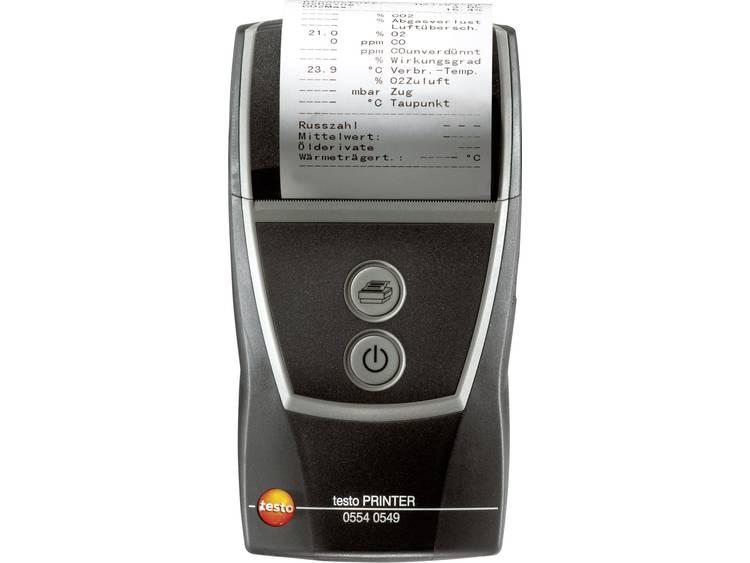 Printer testo 0554 0549 testo protocolprinter Geschikt voor testo instrumenten m