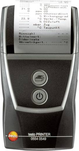 testo Testo printer 0554 0549 testo protocolprinter Geschikt voor testo-instrumenten met IRDA-interface