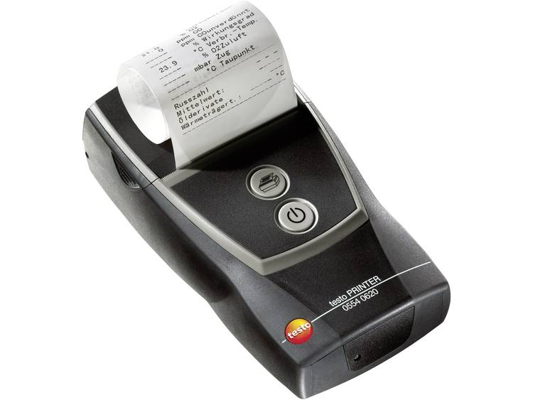 Testo bluetooth®-printer met draadloze bluetooth-interface, incl. 1 rol thermisch papier, akku en ne