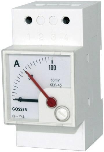 GMW DQB 45H, MB 0/4-20 mA, Sk 100 % DQB 45H Series paneelmeters 0/4 - 20 mA