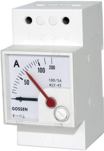 GMW EQB 45H, 500 V GMW draaispoelmeter EQB 45H 0 - 500 V<br