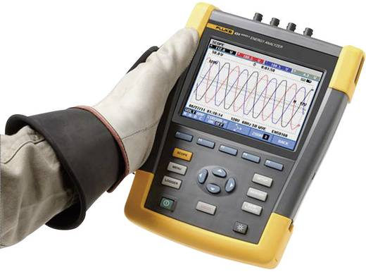 Fluke 437-II/BASIC netvoedingsanalyseapparaat, netvoedingsanalysator 4116719 CAT IV 600 V/CAT III 1000 V