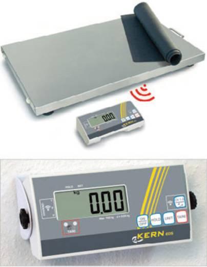 Kern EOS 150K50XLF Platformweegschaal Weegbereik (max.) 150 kg Resolutie 50 g Werkt op het lichtnet, Werkt op batterijen Zilver