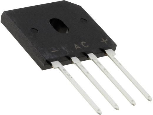 Brug-gelijkrichters Vishay 2KBP08M-E4/51 Soort behuizing SIP-4 U(RRM) 800 V