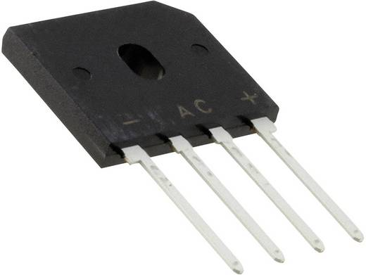Brug-gelijkrichters Vishay GBU4M-E3/51 Soort behuizing SIP-4 U(RRM) 1000 V