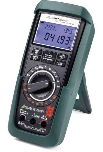 Gossen Metrawatt Metrahit Energy Multimeter Digitaal Kalibratie: DAkkS CAT III 600 V, CAT IV 300 V Weergave (counts): 6