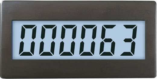 VOLTCRAFT DCM220W 6-cijferige teller ingebouwd Voltcraft DCM-220W 3 V/DC (CR1220), verlichting voeding 9 V/ DC Inbouwmaten 48 x 24 mm