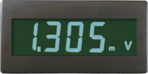 VOLTCRAFT DVM230GN Digitale inbouwmeter, paneelmeter Inbouwmaten 45 x 22 mm