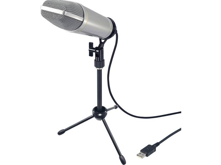 Renkforce USB-S1 professionele USB-studiomicrofoon