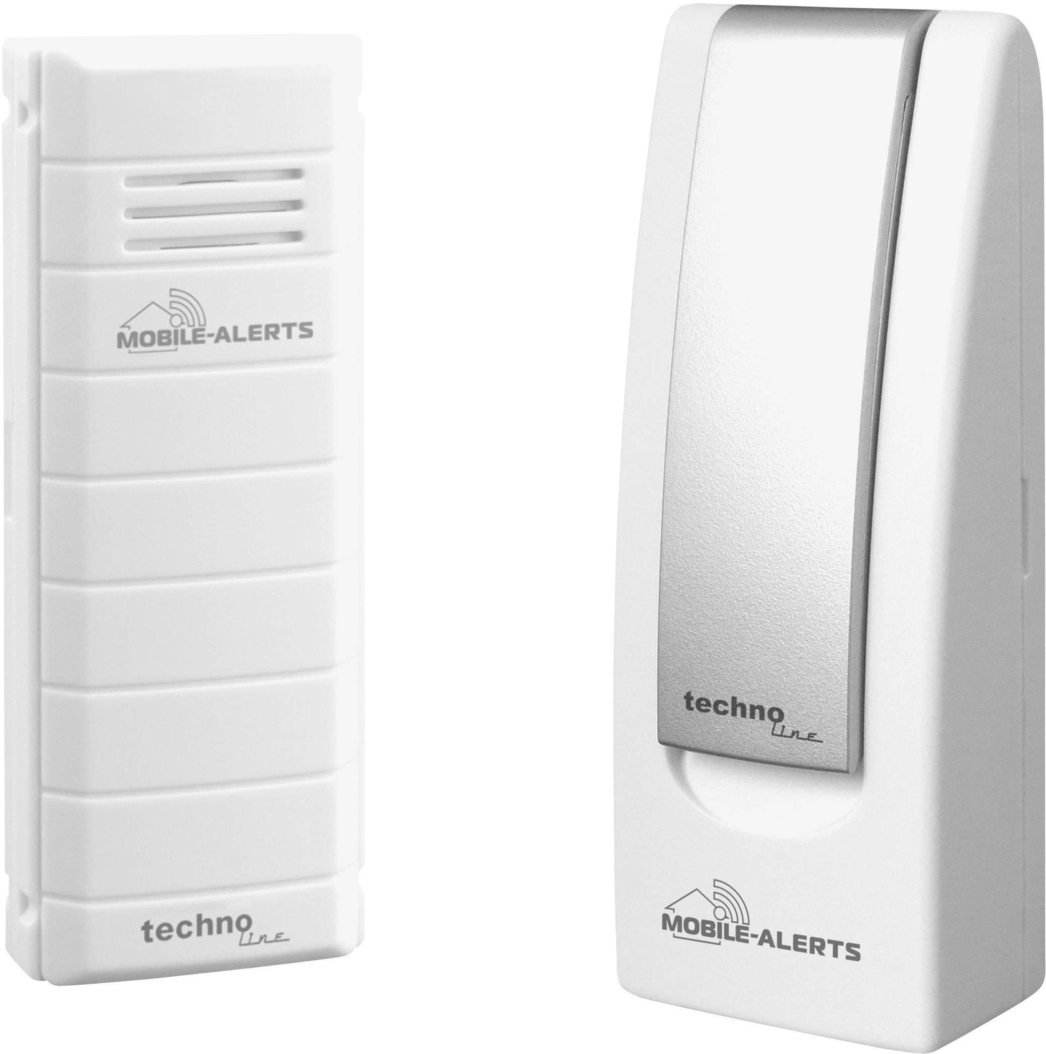 Conrad-Techno Line Mobile Alerts MA10001 Starter Set Mobile Alerts MA 10001 + Gateway Draadloze thermometer-aanbieding